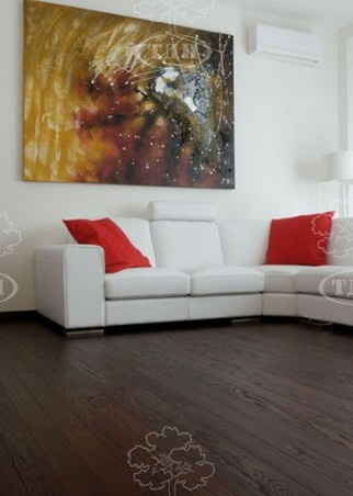 Solid wood flooring, THERMOASH
